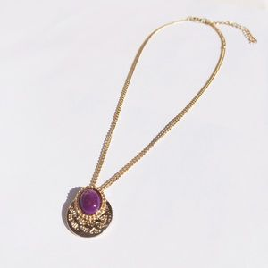 Boho Golden Choker Necklace